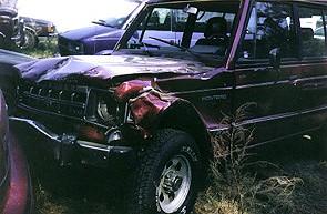 Car Crash Drunk Driver North Carolina April