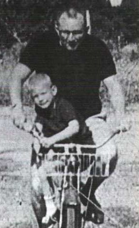 Baby jeffrey with his mother joyce a flint dahmer 1960