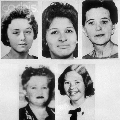 portraits of five boston strangler victims these file photos show five