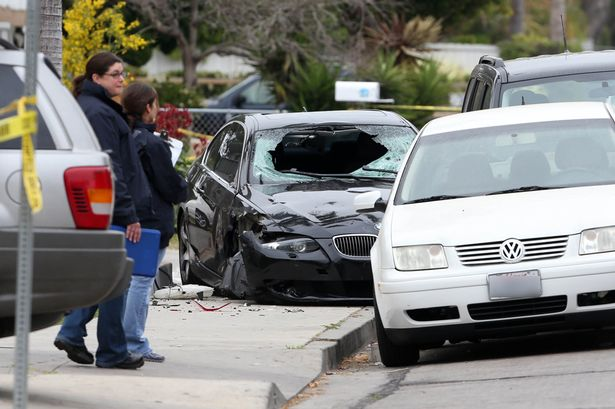 Elliot Rodger Car Crash