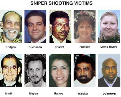 The Beltway Sniper Attacks Disrupted